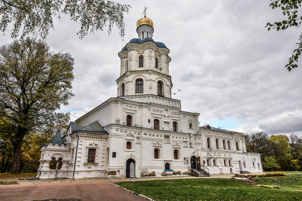 View on Chernihiv Collegium - the residence of Archbishops of Chernihiv