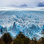 The advancing ice field