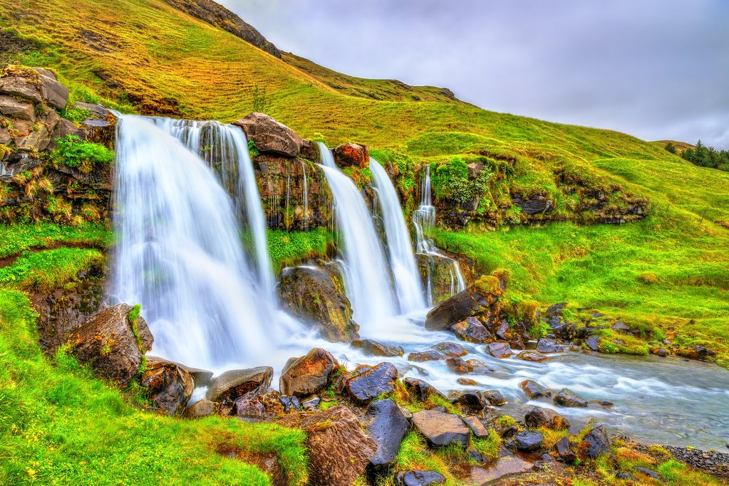Gluggafoss in Southern Iceland
