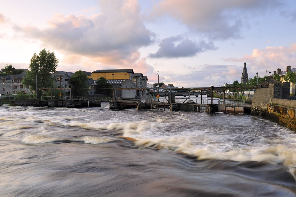 The River Moy at Ballina.