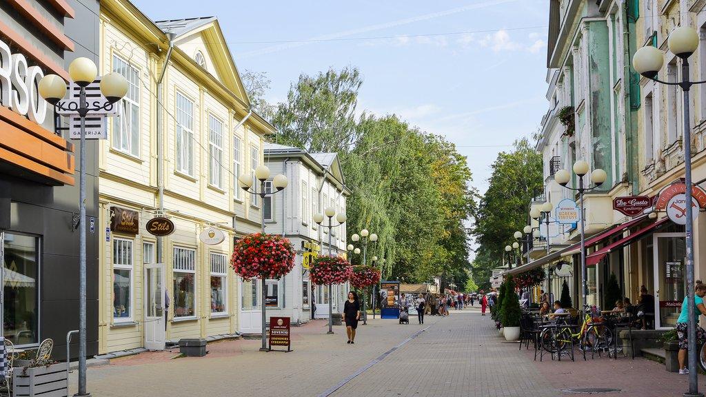 Streets of Jurmala, Latvia