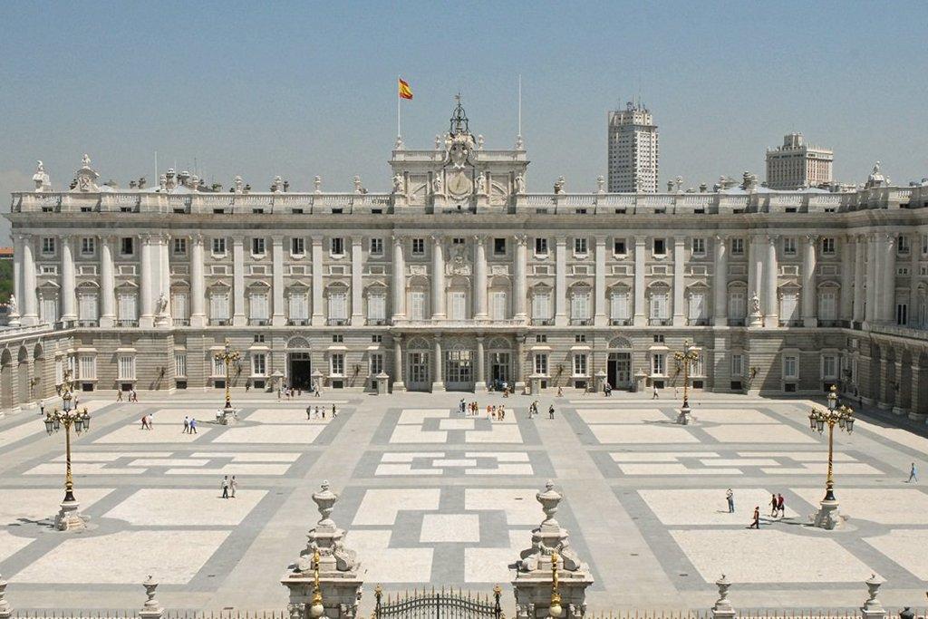 Madrid's historic Royal Palace.