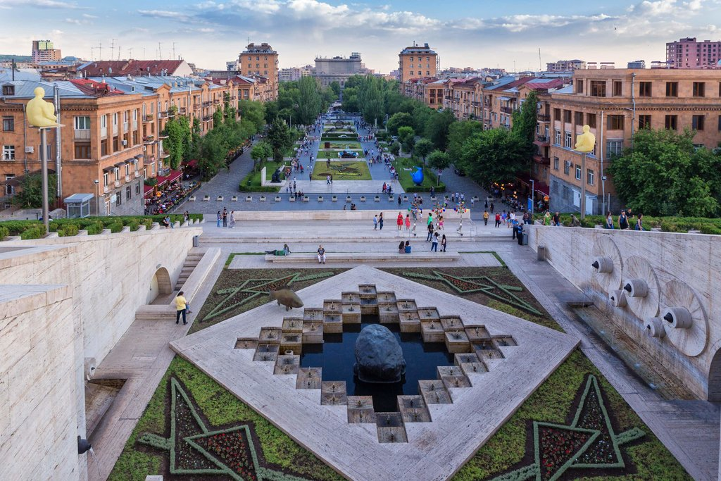 Streets and Gardens of Yerevan