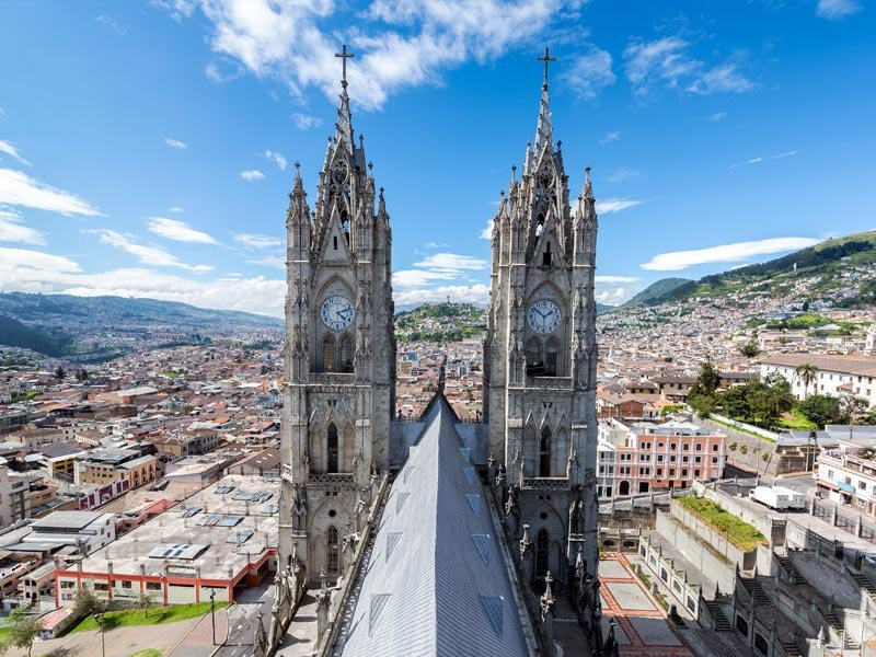 Quito is full of beautiful churches