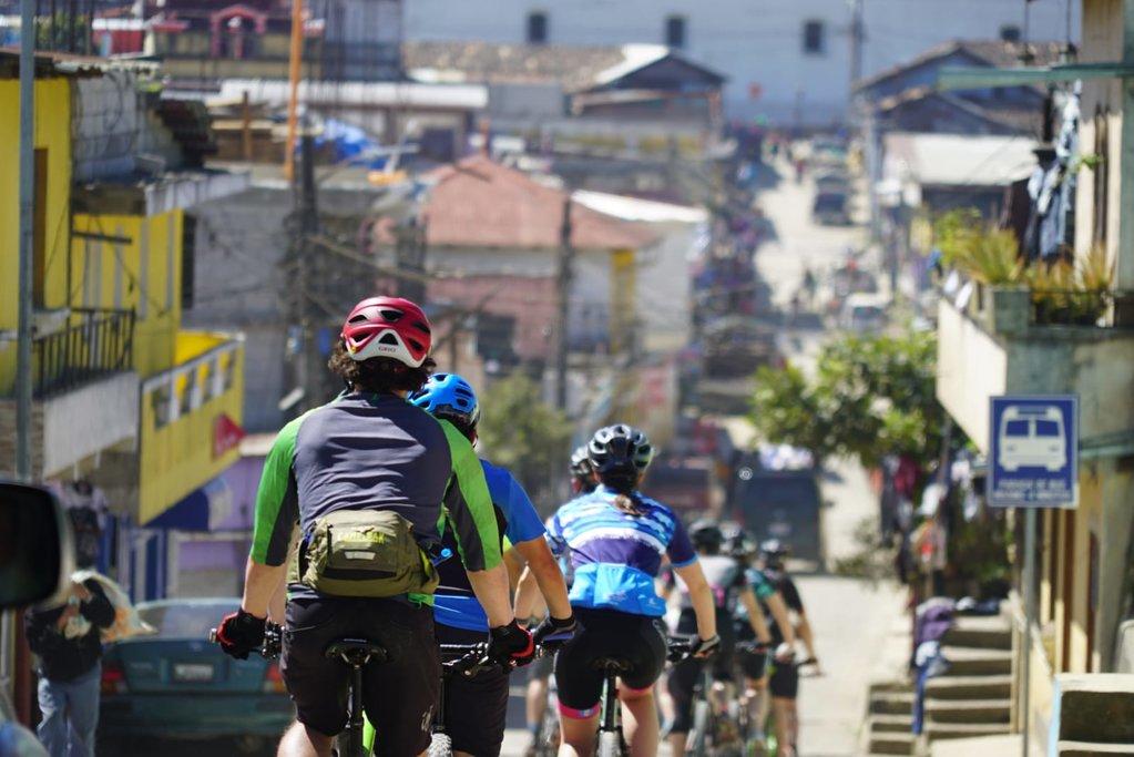Traversing Guatemala on MTB