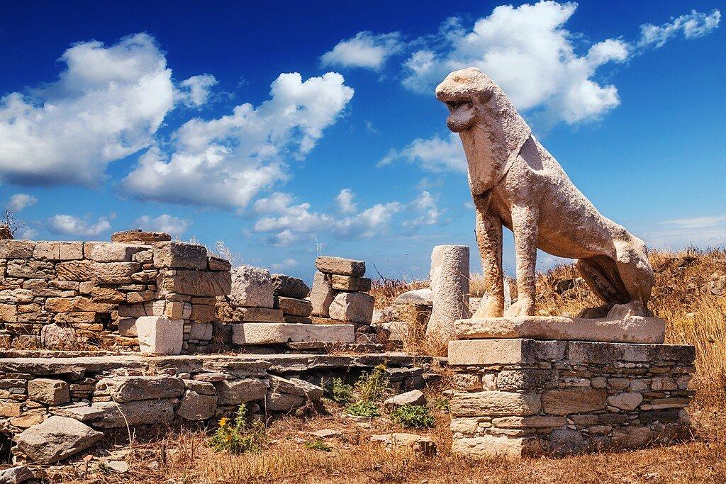 The Lion's Terrace at Delos
