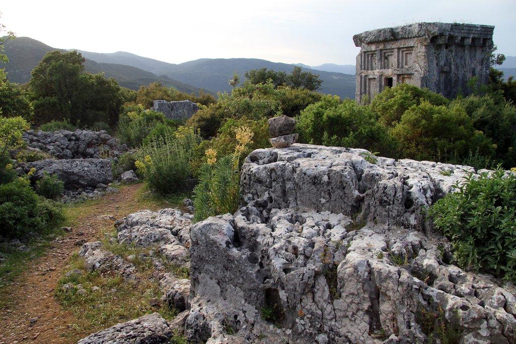 Phellos ruins