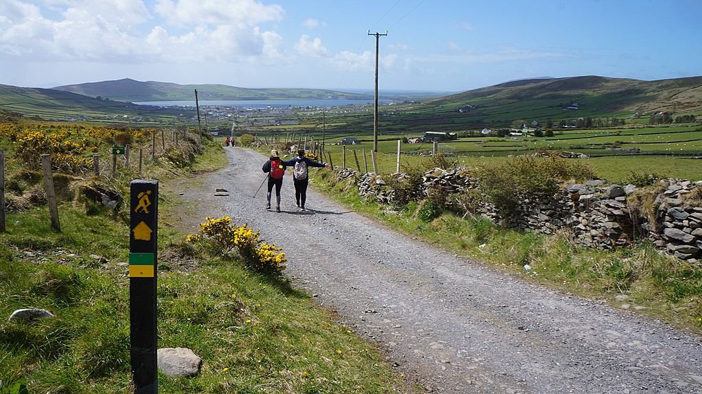 The entrance to the Kerry Camino