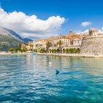 The fortress walls of Korčula