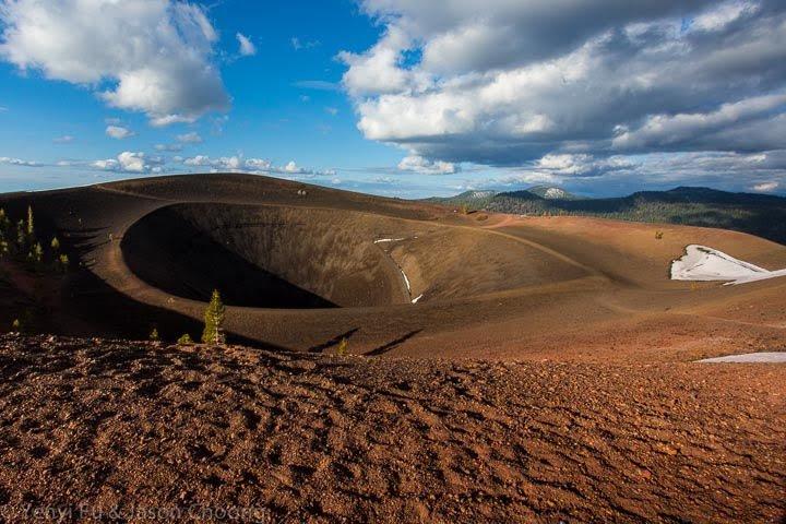 Crater of Cinder Cone