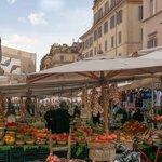 Campo de' Fiori and its famous market