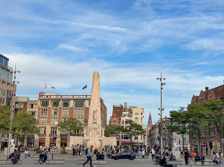 The National Monument on Dam Square, Amsterdam
