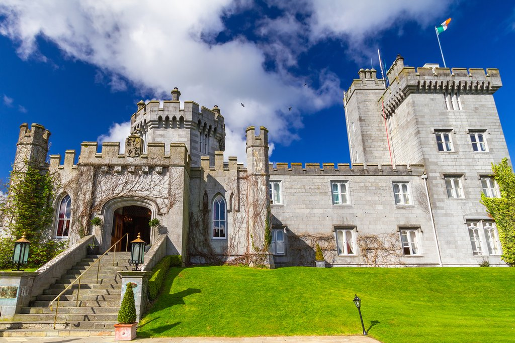 Dromoland Castle in County Clare, Ireland