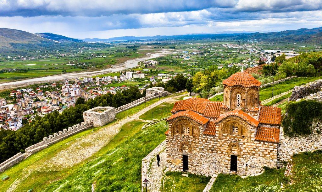 The Berat Citadel, Albania