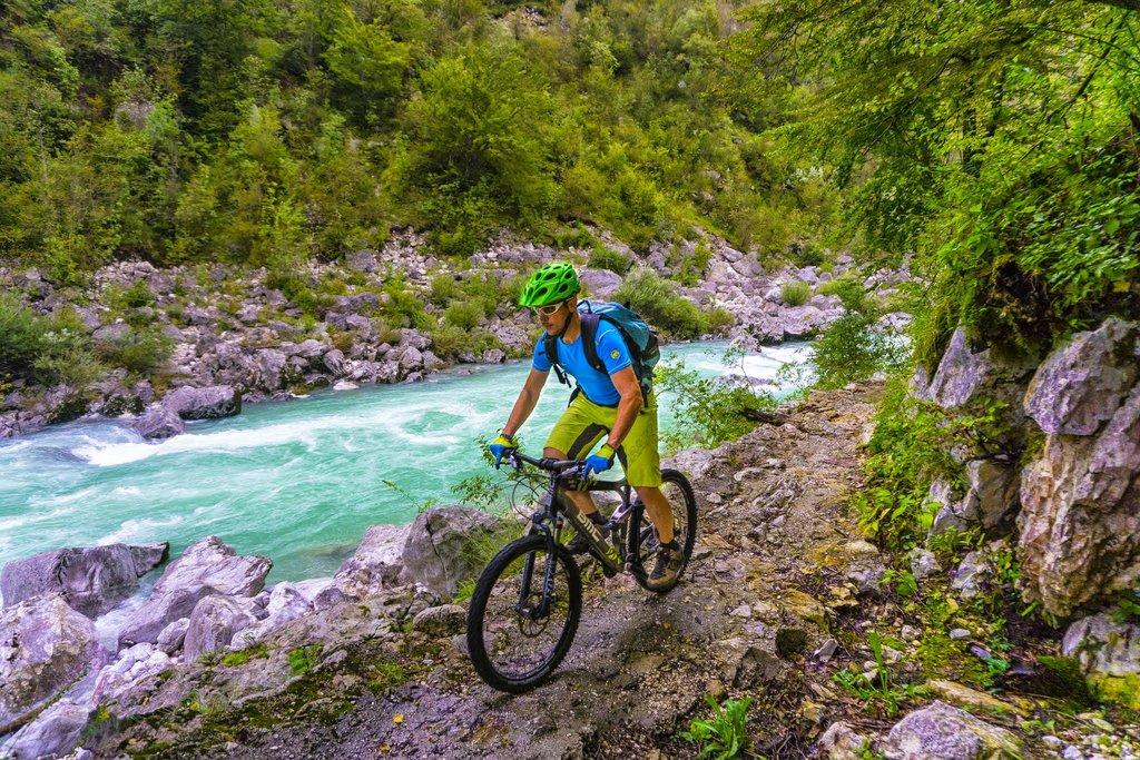 Following the beautiful Soča river