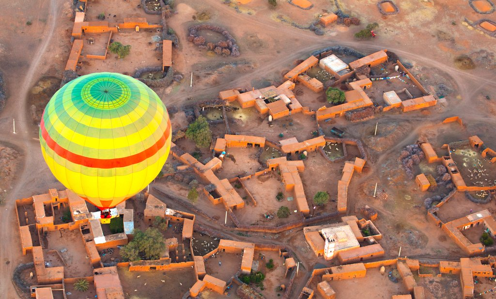 Soaring over Marrakech