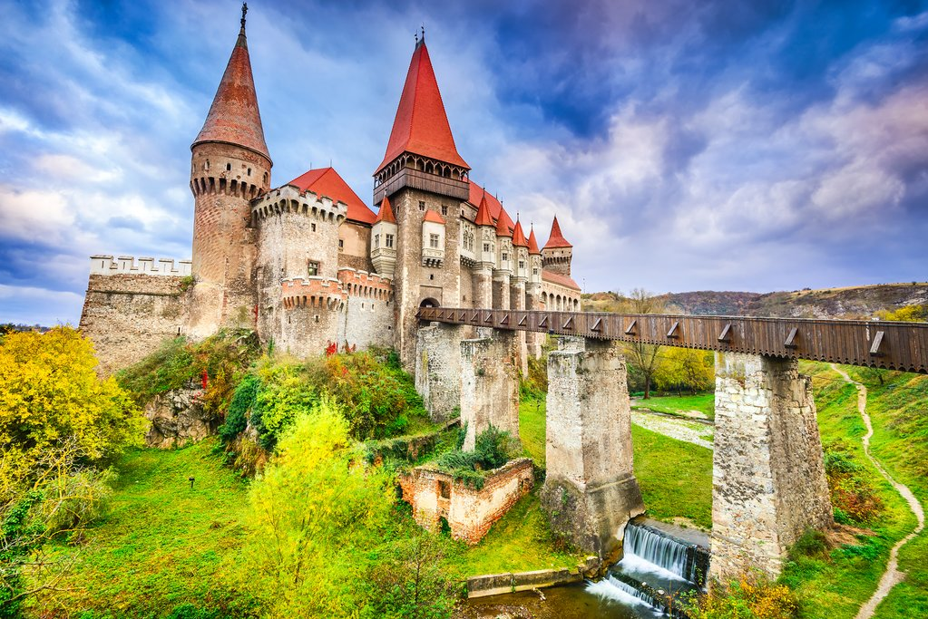 Hunedoara, Romania, Corvin's Castle