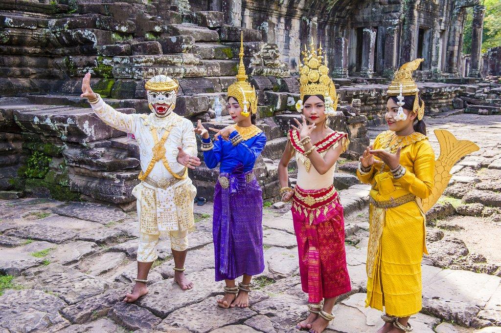 Apsara Dancers in Angkor Wat