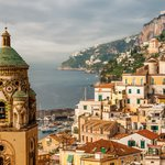 St Andrea Cathedral and the panoramic views of Amalfi coast