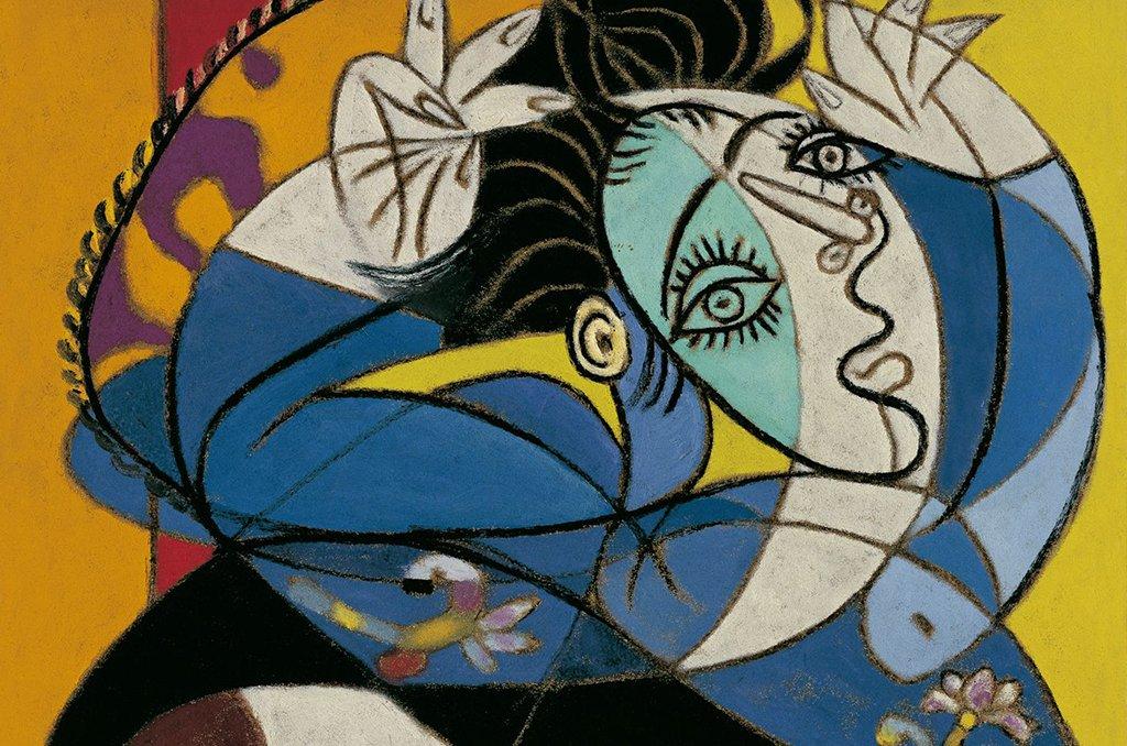 Picasso's Cubist art