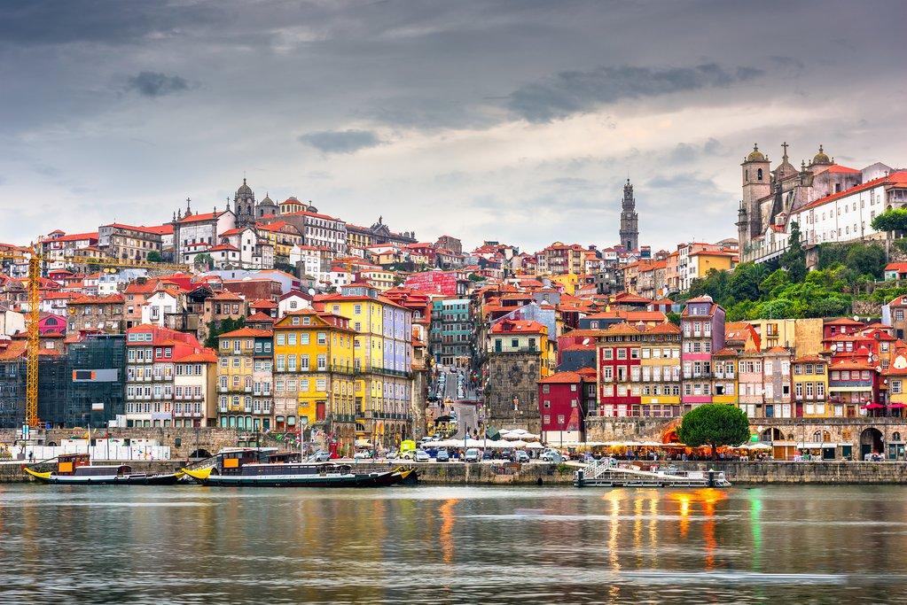 Porto's scenic skyline