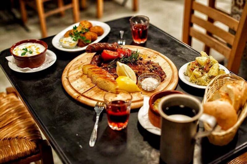 Tasting Greek Meze - Photo from MAMAKITA