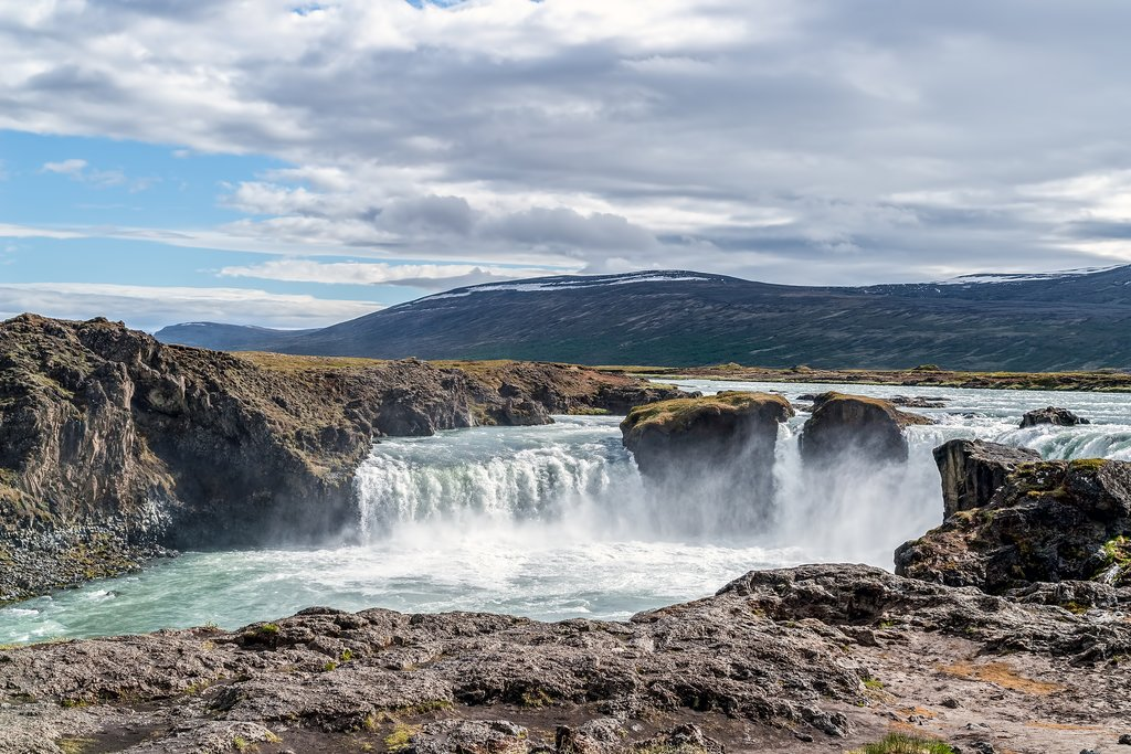 Godafoss, the Waterfall of the Gods