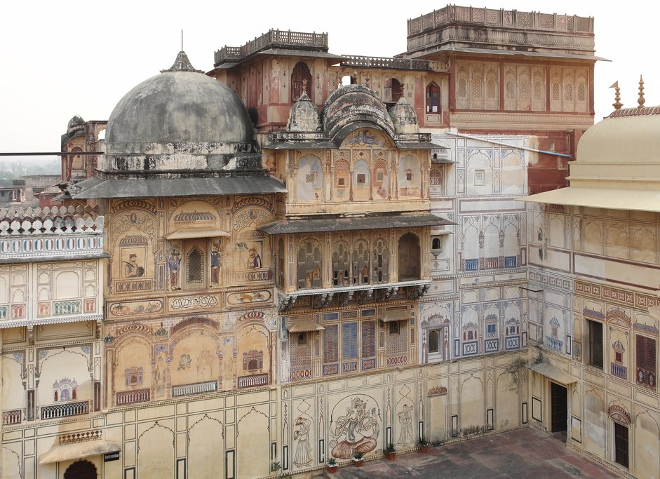Visit the 14th-century Karauli City Palace