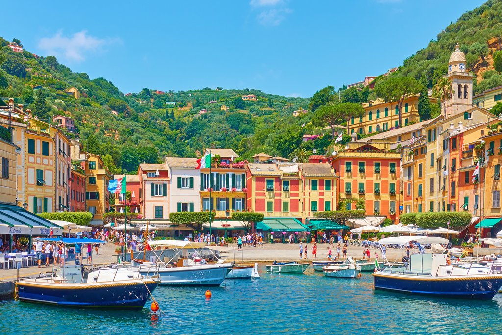 Portofino's Colorful Harbor