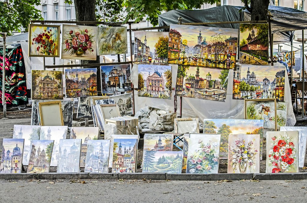 Paintings in Lviv