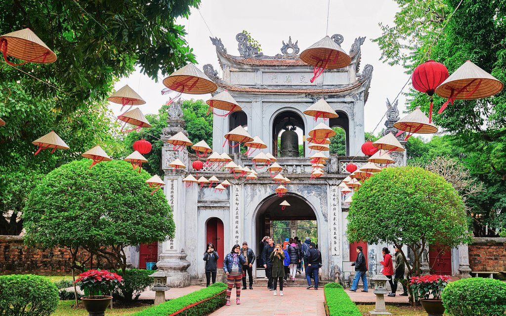 The Temple of Literature, Hanoi