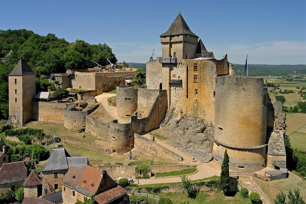 Castle of Castelnaud la Chapelle