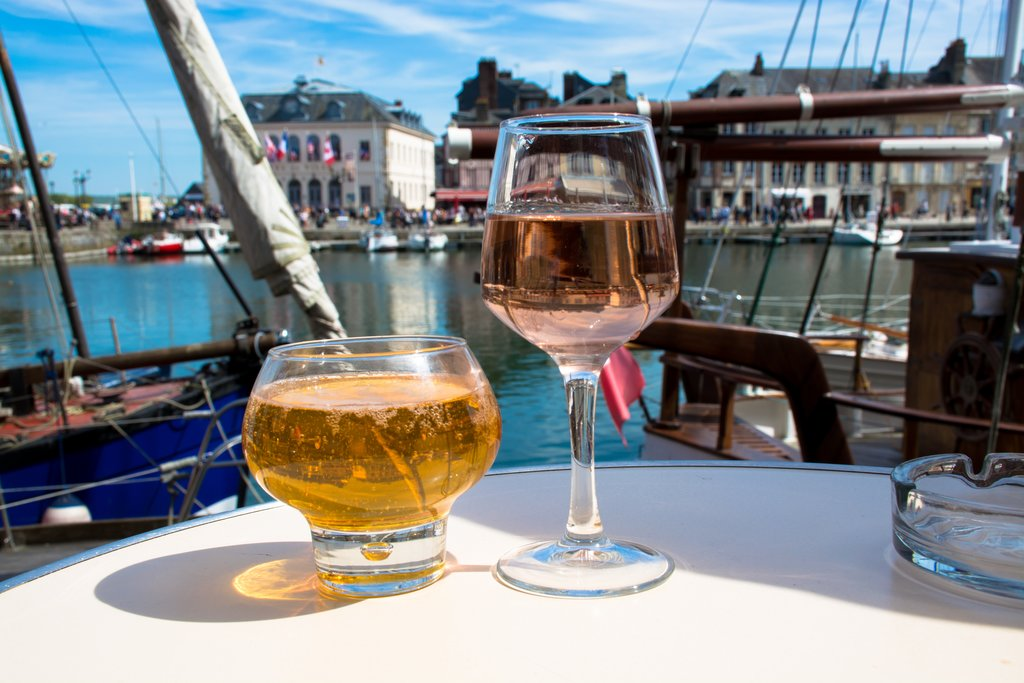 Enjoy a drink on the waterfront