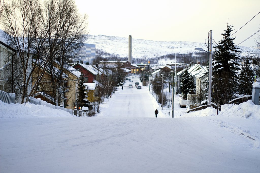 Kirkenes is a small town on the Finnish and Russian borders