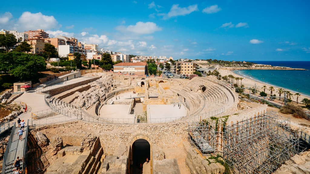 Ancient roman amphitheater of Tarragona