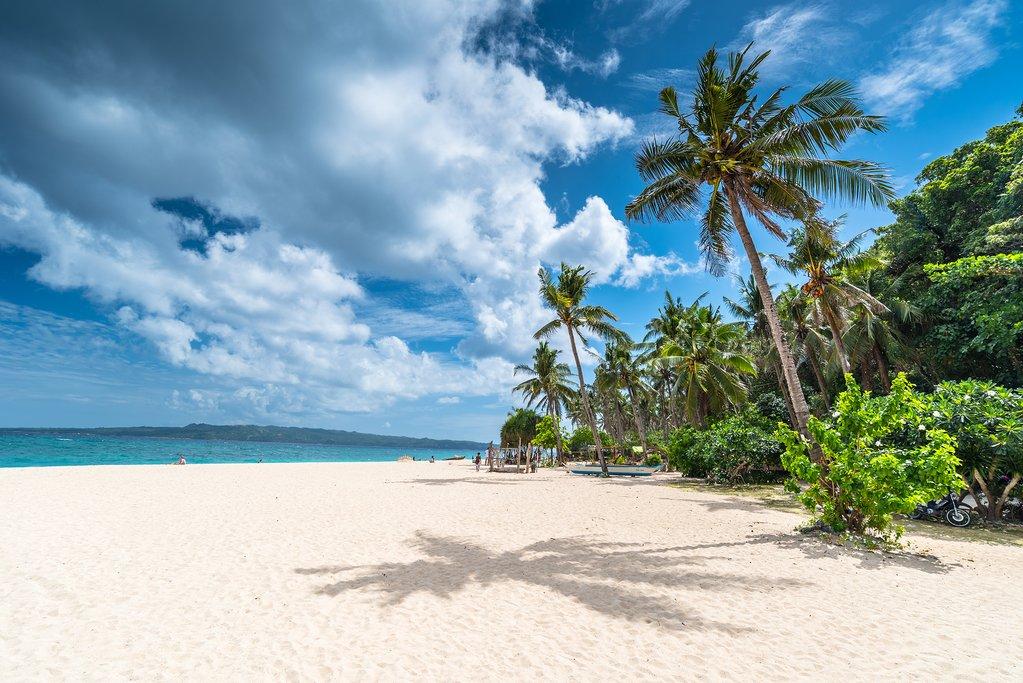 Puka Beach, Boracay, the Philippines