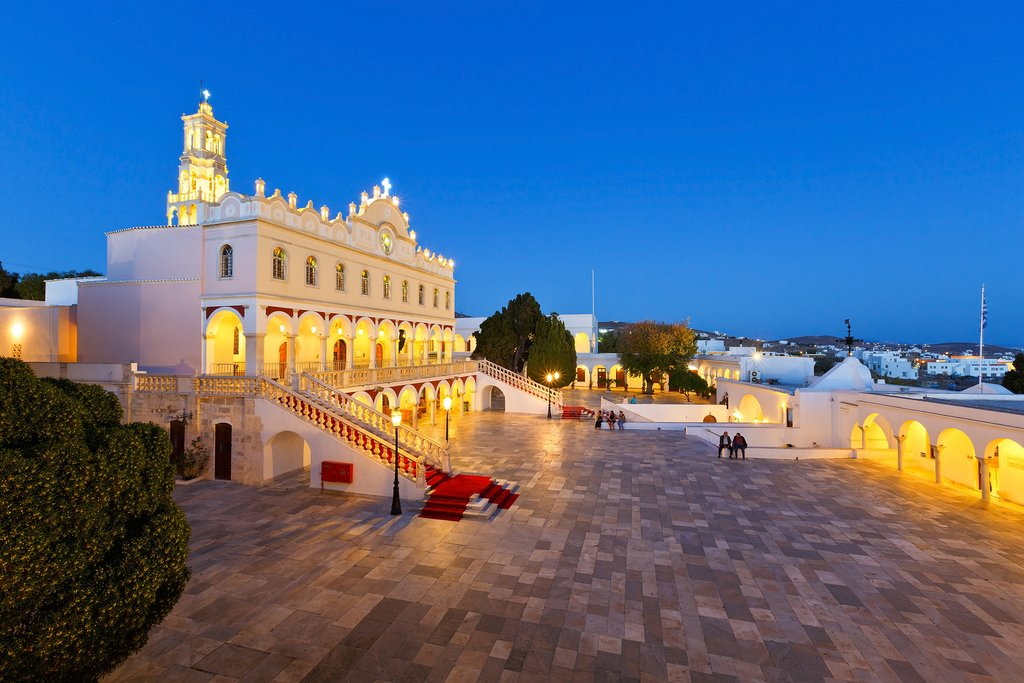 Panagia Evangelista church Tinos Greece