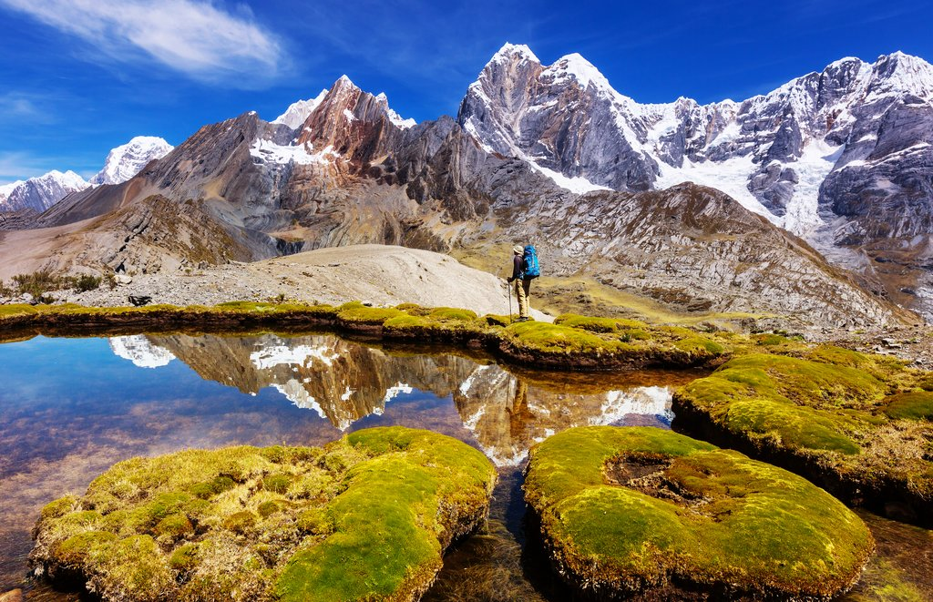 Mountains of the Cordillera Blanca