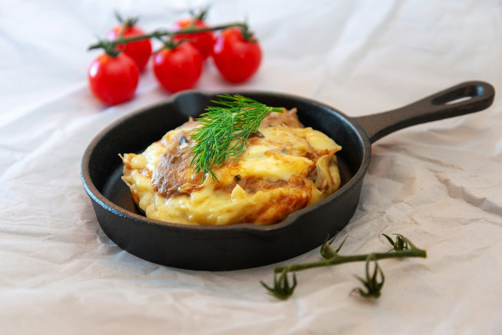 Have a tartiflette for lunch