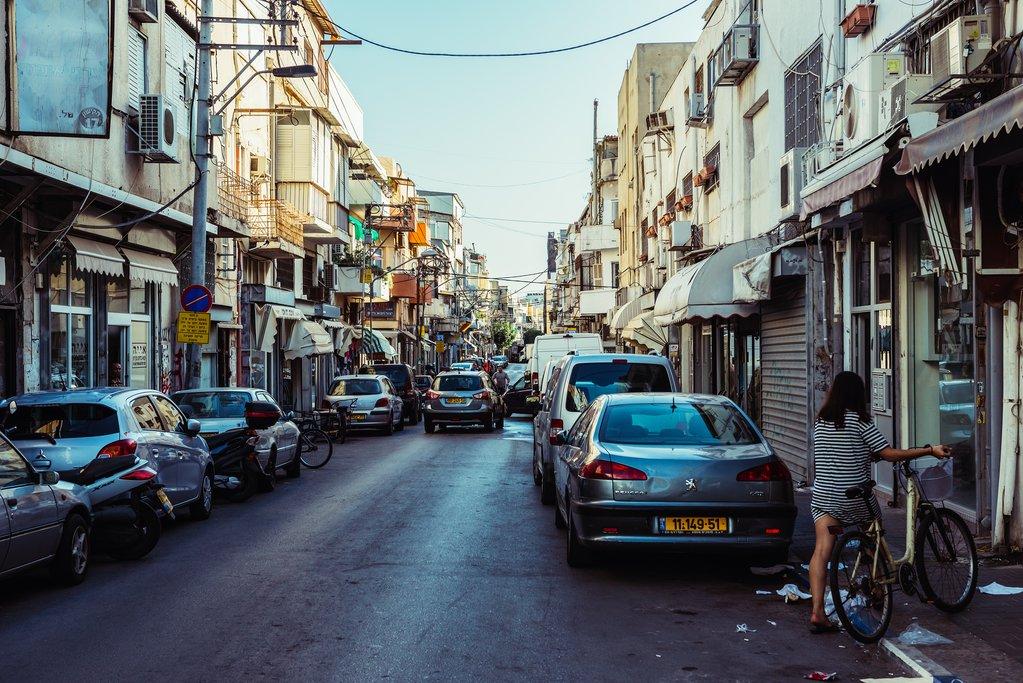 Florentin district in Tel Aviv