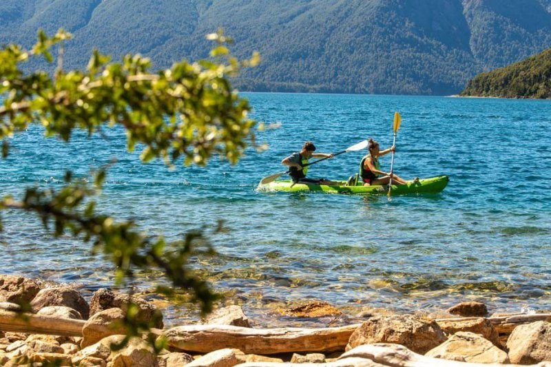 Go on a kayaking adventure through the Lakes District