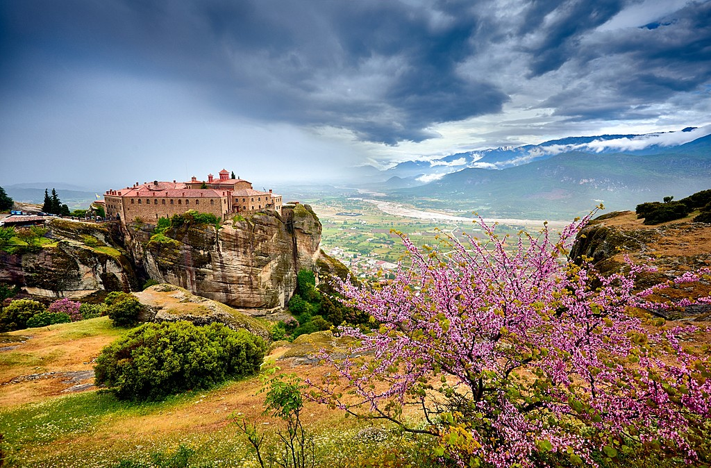 The Monastery on a clifftop
