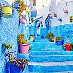 Lose yourself in the blue city of Chefchaouen