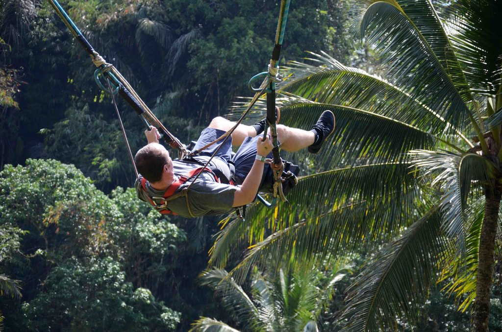 Swinging through Bali