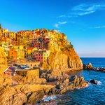 Seaside village on the Cinque Terre