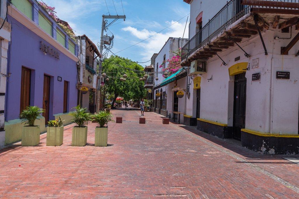 City street, Santa Marta