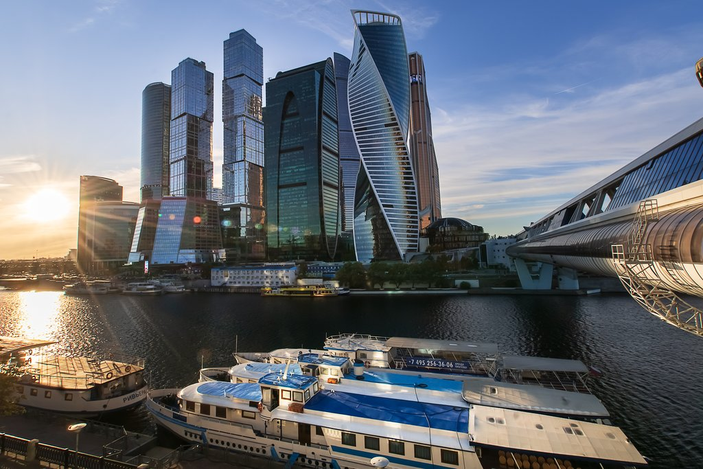 Moscow's International Business Center