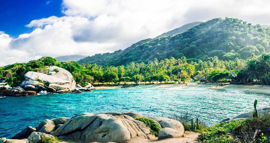 Tayrona Park in Colombia