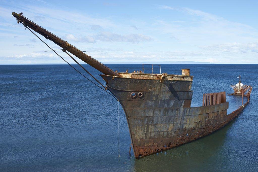 Ship Lord Lonsdale - Punta Arenas