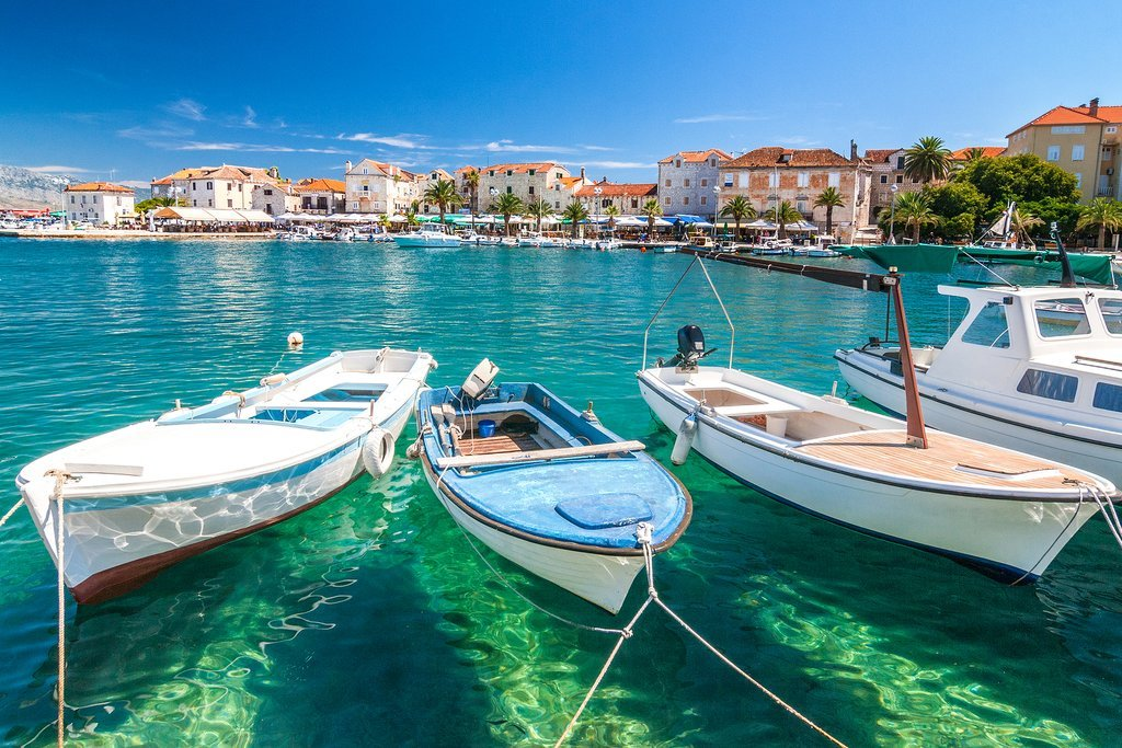 How to Get from Split to Brač Island